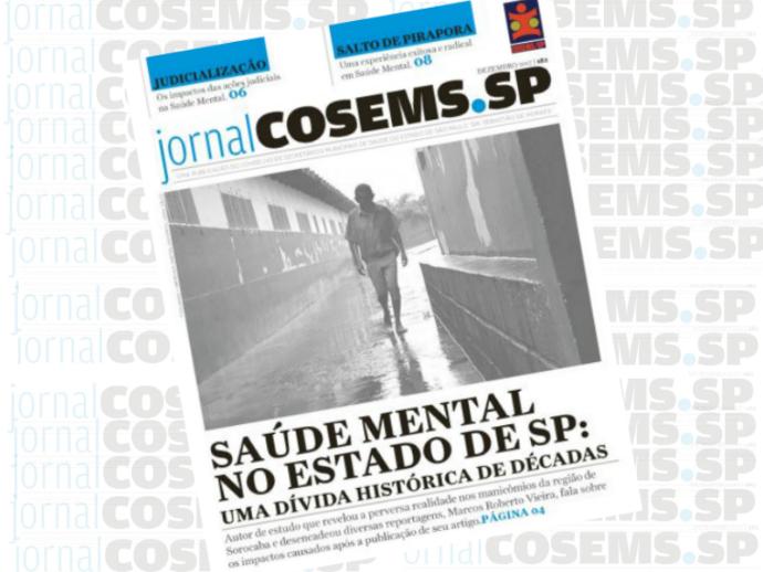 Edição 182 traz um mapa da Saúde Mental no Estado de SP