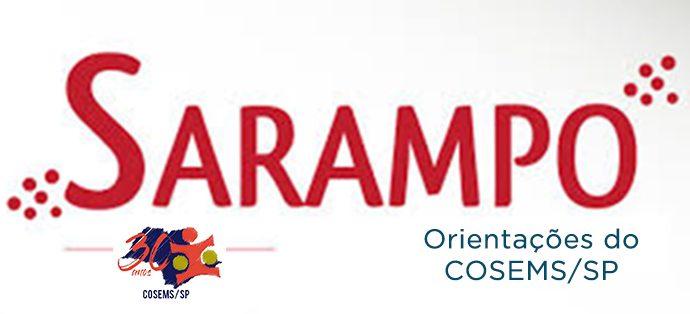 Nota de orientações do COSEMS/SP sobre Sarampo