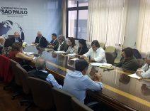 Encontro para debate sobre a rede de Oncologia no estado de São Paulo