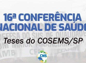 Teses do COSEMS/SP para a 16ª Conferência Nacional de Saúde