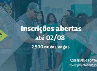 Aedes na Mira: 2.500 novas vagas abertas para capacitação