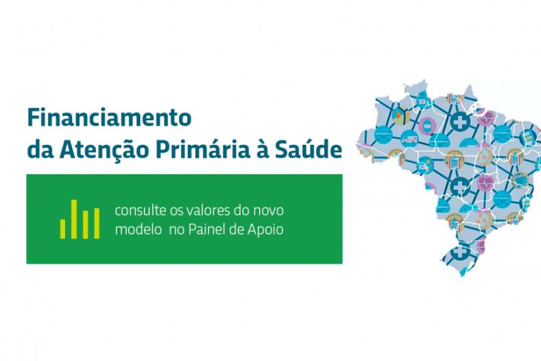 Painel de apoio apresenta dados no novo financiamento da APS por município