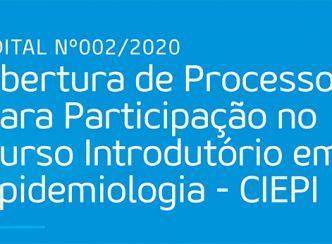 Abertura de Processo para Participação no Curso Introdutório em Epidemiologia – CIEPI