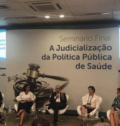Fiocruz Brasília apresenta panorama da judicialização da Saúde no Brasil