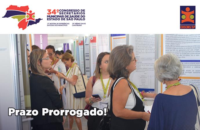 Prorrogadas as inscrições para a 17ª Mostra de Experiências Exitosas dos Municípios paulistas