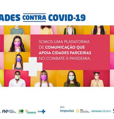 Confira os materiais de comunicação para incentivar a adesão da população às medidas de prevenção da COVID-19