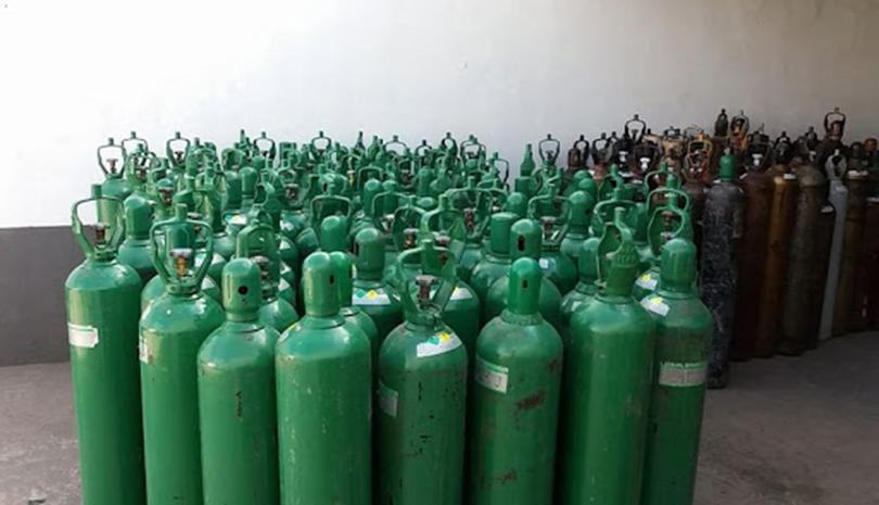 Comunicado sobre a entrega de cilindros de oxigênio vazios pelo Governo do Estado de São Paulo
