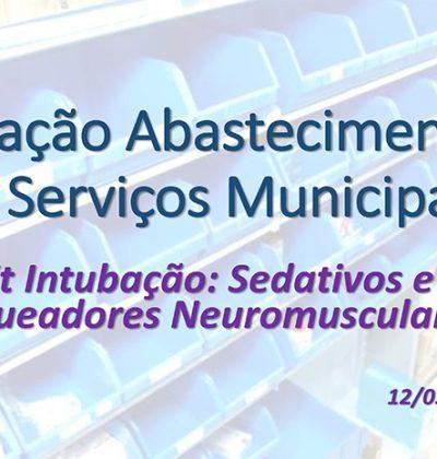 Novo levantamento aponta que situação dos kits de intubação no estado de São Paulo continua praticamente a mesma