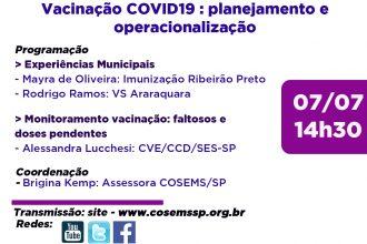 Encontros Municipais II - Planejamento da Vacinação e Operacionalização no contexto atual da Campanha de Vacinação contra COVID-19
