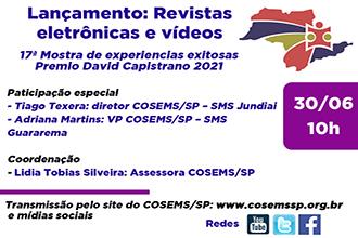 Lançamento - Vídeos e Revistas: 17ª Mostra de Experiências Exitosas dos Municípios paulistas