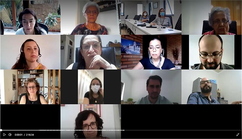 Encontro com especialistas para análise de cenário atual da pandemia COVID-19 e variante Delta no estado de São Paulo